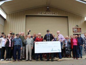 $5000 funding grant for Henty Men's Shed