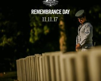 Remembrance Day – 2017