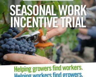 Seasonal work incentives offer fresh approach for Farrer
