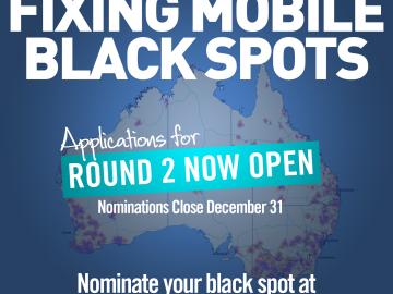 December 31 deadline set for Farrer mobile black spot nominations