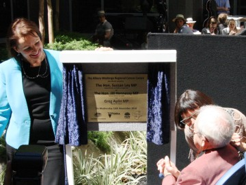 Albury Wodonga Regional Cancer Centre officially opened