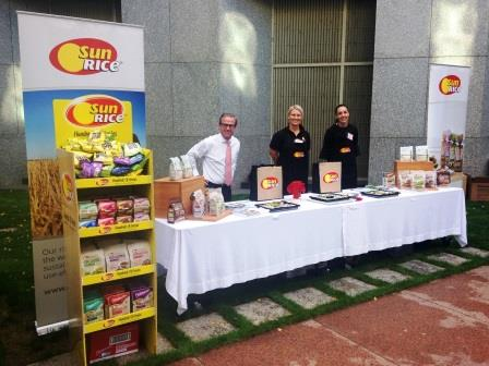 My call to action to every Australian is to buy Australian rice!