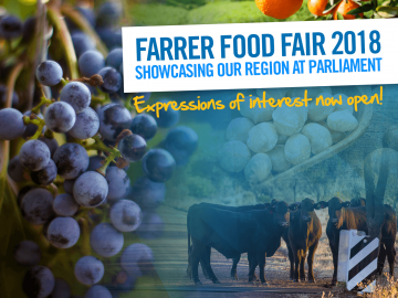Farrer Food Fair – expressions of interest are now open!