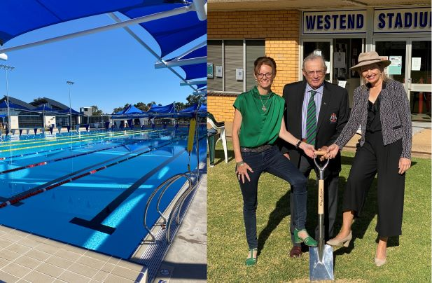 Red letter day for Griffith's sporting facilities