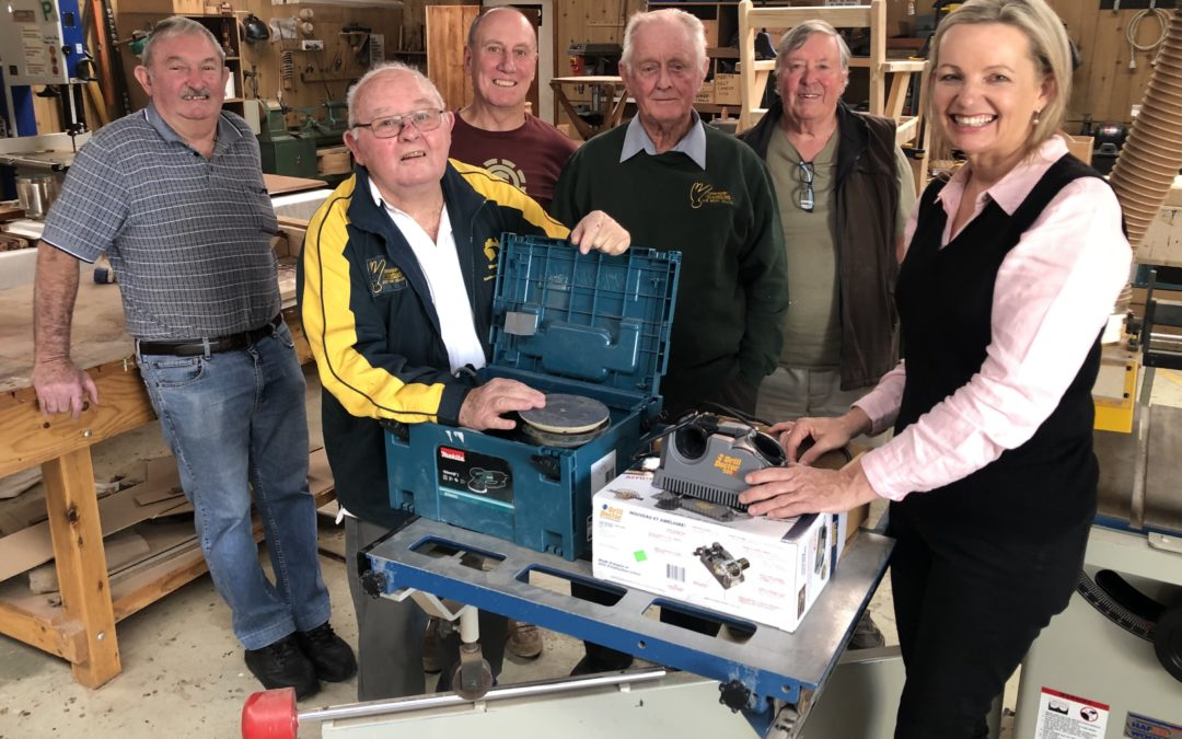 Local Men's Sheds receive a funding boost