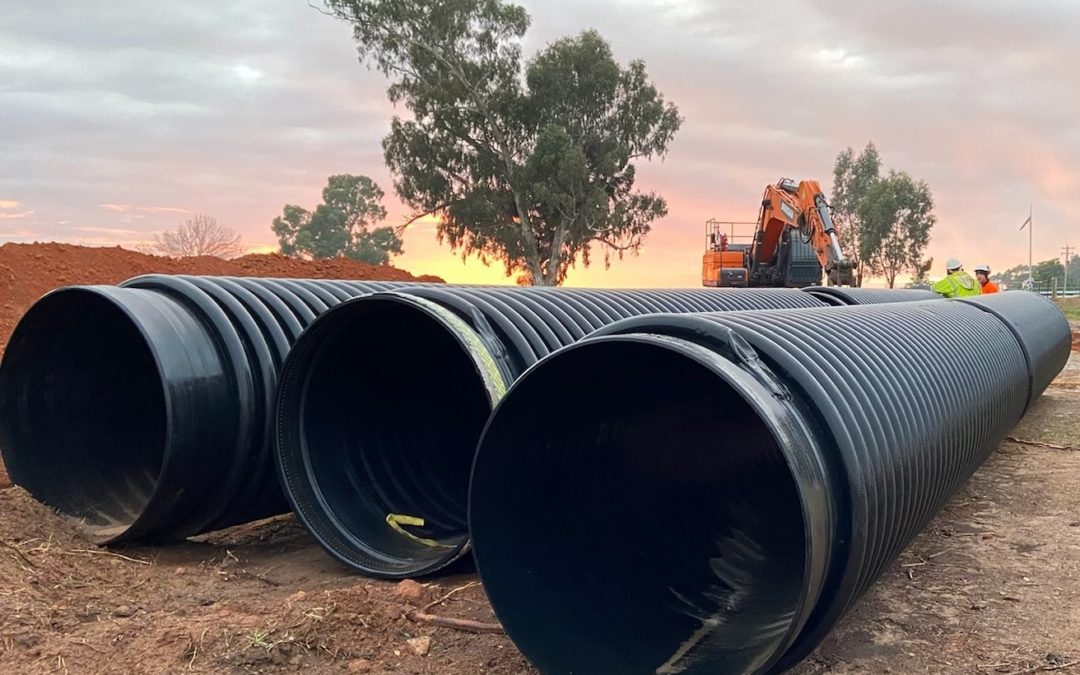 New $15m pipe plant at Tocumwal to save water across Basin