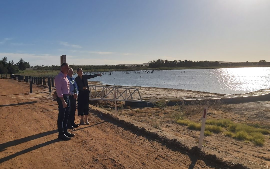 $6.9m to link Lake Wyangan with Griffith's Water Reclamation Plant